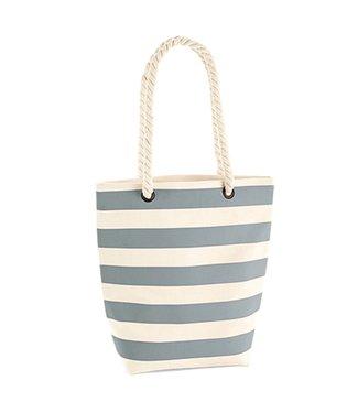 Boylo's WM Nautical Tote Bag - Natural/Grey