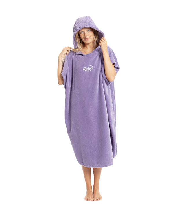 Robie Robes Robie Robe Changing Towel Grape