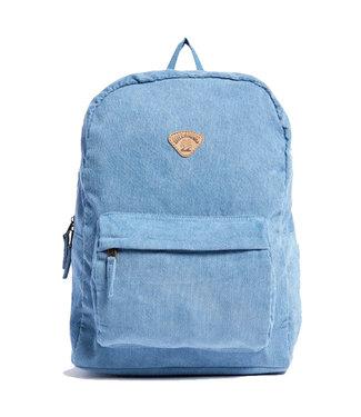 Billabong Schools Out Cord Backpack Deja Blue