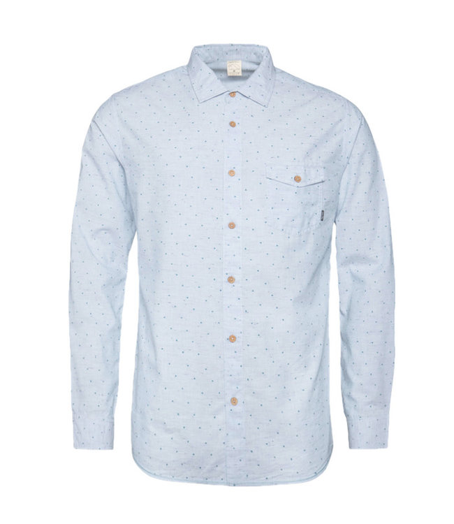 Protest Afternoon L/S Shirt Empire Blue