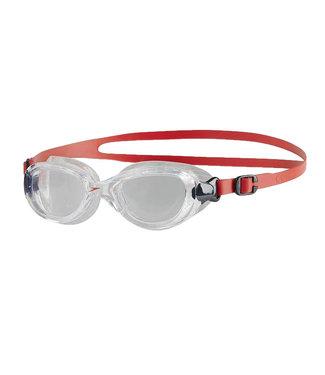 Speedo Futura Biofuse Junior Goggles - Red Clear