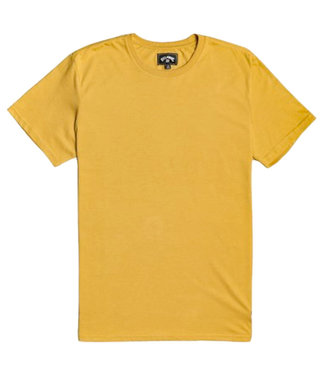 Billabong All Day Crew T-Shirt Mustard