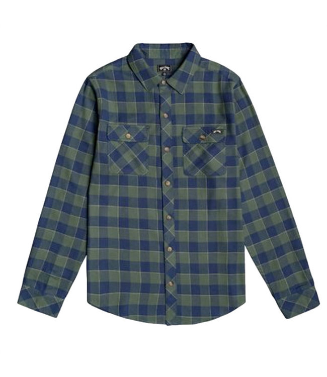 Billabong All Day Flannel L/S Shirt Forest
