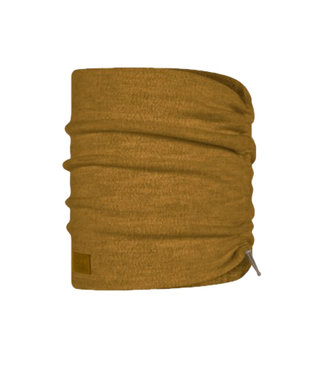 Buff Merino Wool Fleece Buff - Ocher