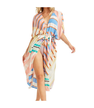 Billabong Sunburnt Sky Coverup Georgia Peach