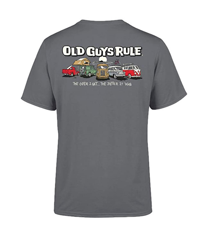 Old Guys Rule Parking Lot 3 T-Shirt