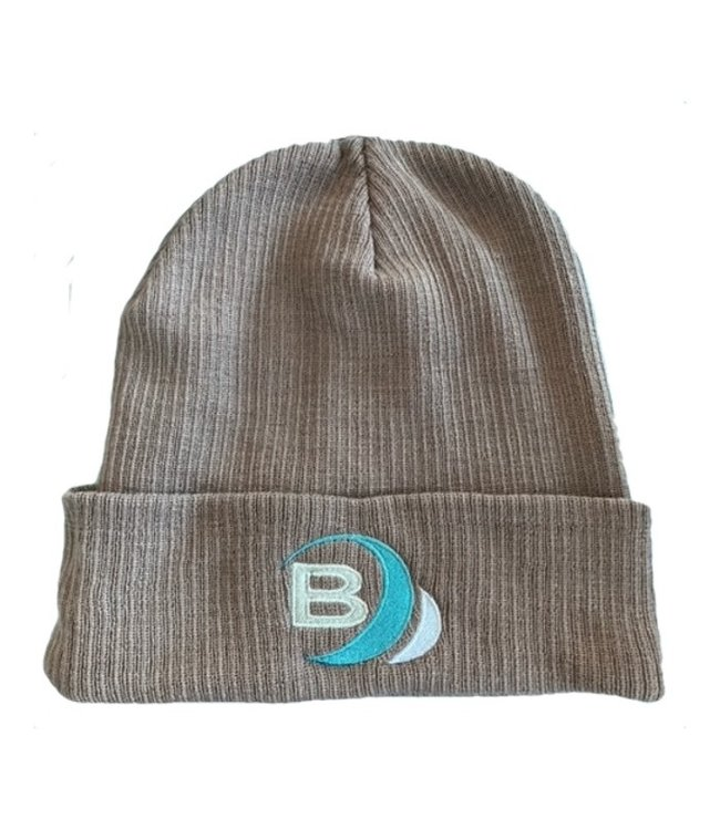 Boylo's B Surf Beanie Light Grey Adult