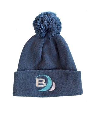 Boylo's B Surf Pom Beanie Blue Adult
