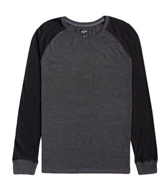 Billabong Balance Raglan L/S T-Shirt Black