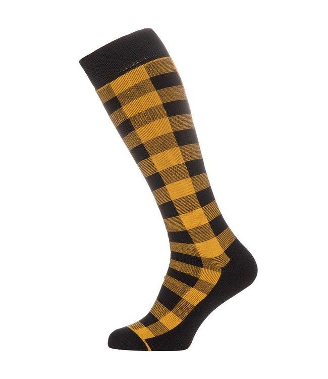 Protest Gent Snow Socks Dark Yellow
