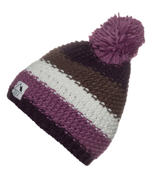 Protest Crave 20 Bobble Beanie Hat Very Grape