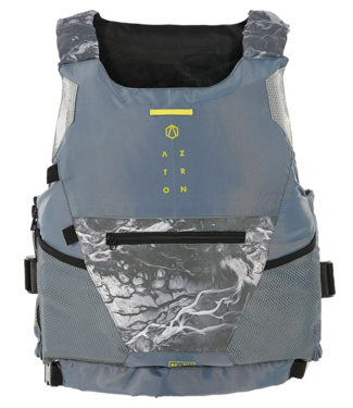 Aztron Nylon Safety Vest Buoyancy Aid - Grey