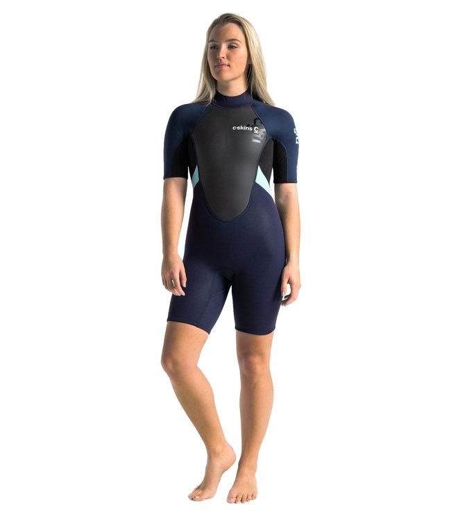 C-Skins Womens Element 3/2mm Shorti Wetsuit