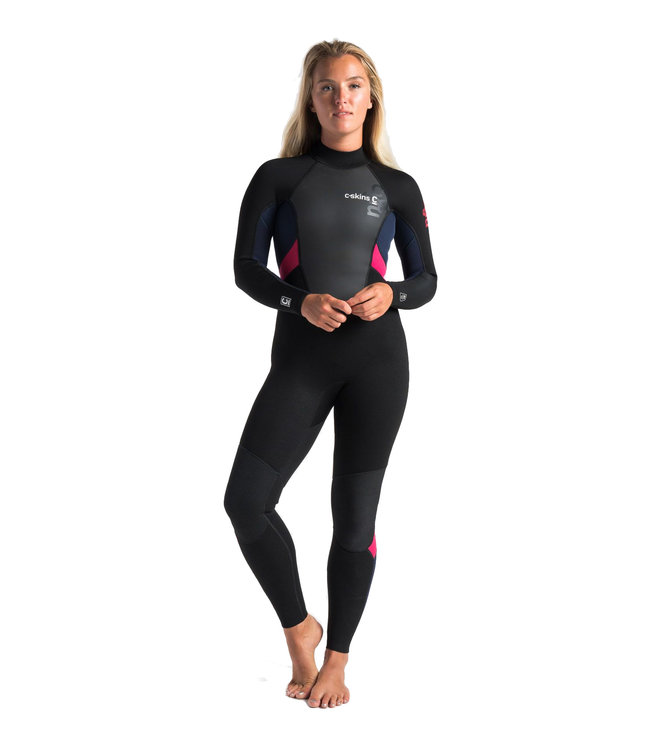 C-Skins Womens Element 3/2mm Full Wetsuit Coral