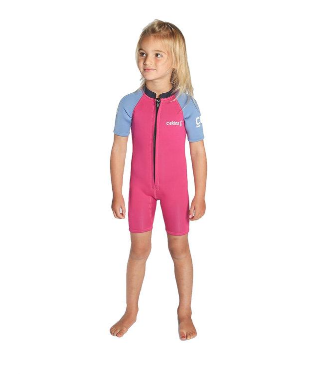 C-Skins Toddler Shorti Wetsuit Magenta