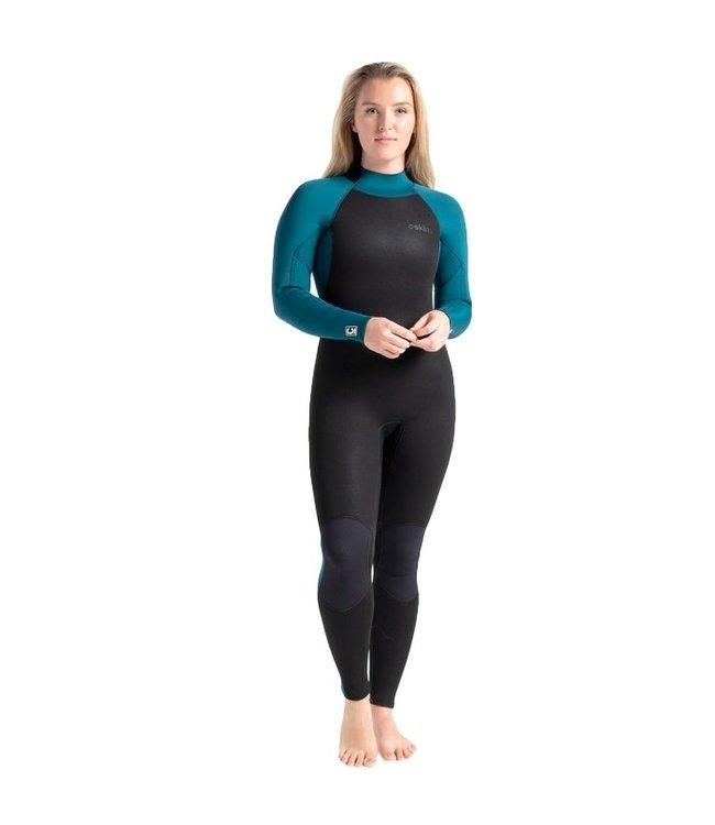 C-Skins Womens Surflite 5/4/3mm GBS Wetsuit Marine