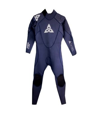 O'Shea Mens Prisma 3/2mm Full Wetsuit Navy