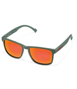 Red Bull Leap Sunglasses Olive Green Brown 006