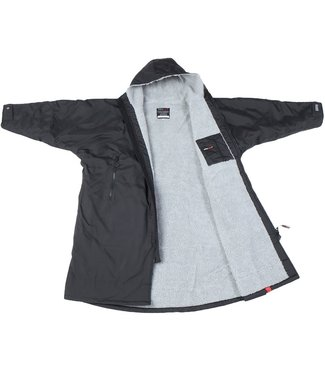 Dryrobe Dryrobe Advance Adult Long Sleeve Black Grey