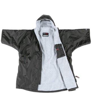 Dryrobe Dryrobe Advance Youth Short Sleeve Black Grey