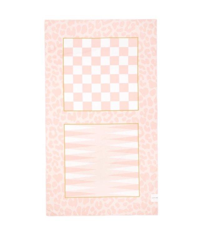 Sunnylife Games Towel Pink