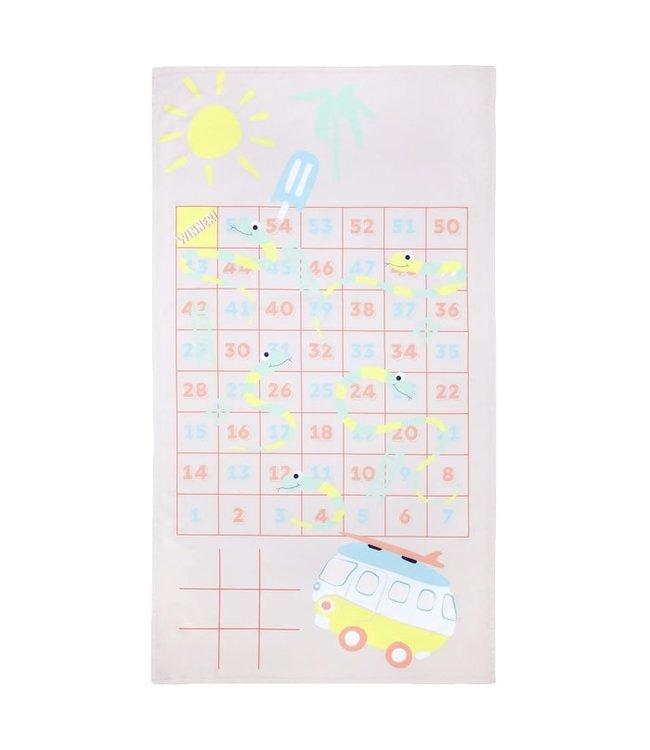 Sunnylife Games Towel Dino
