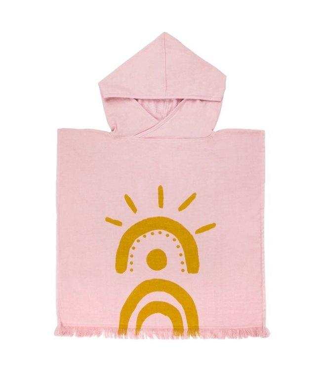 Sunnylife Beach Poncho Pink