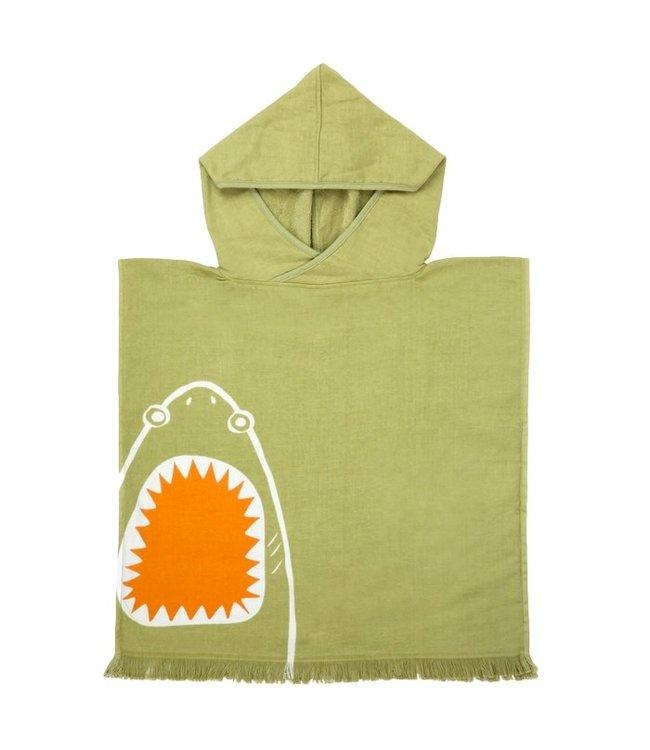 Sunnylife Beach Poncho Shark