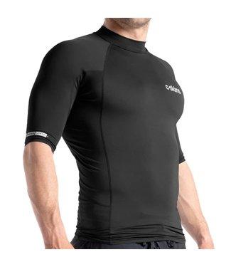 C-Skins Mens Skins S/S Rash Vest Black