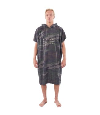 Ripcurl Mix Up Hooded Towel Green