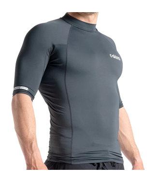 C-Skins Mens Skins S/S Rash Vest Anthracite