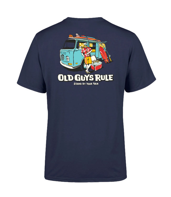 Old Guys Rule Stand By Your Van II Navy