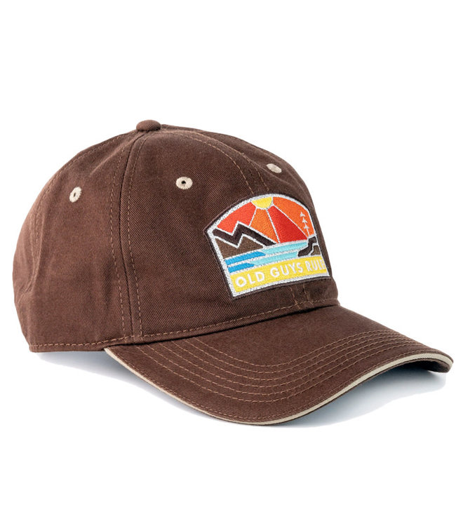Old Guys Rule Explore Outdoors Cap