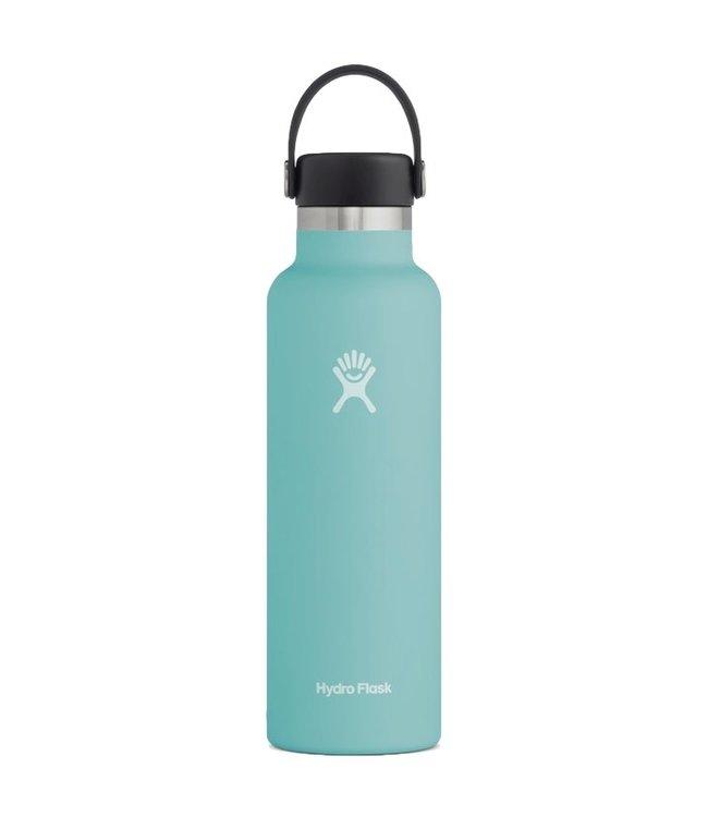 Hydro Flask 21 Oz Standard Mouth with Flex Cap Water Bottle Alpine