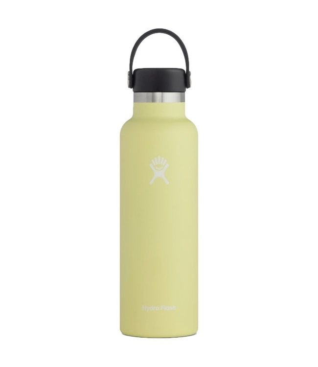 Hydro Flask 21 Oz Standard Mouth with Flex Cap Water Bottle Pineapple