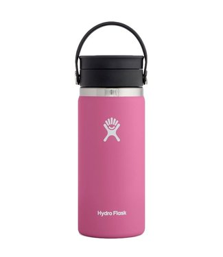 Hydro Flask 16 Oz Wide Mouth with Flex Sip Lid Coffee Cup Carnation