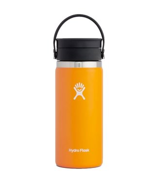 Hydro Flask 16 Oz Wide Mouth with Flex Sip Lid Coffee Cup Clementine