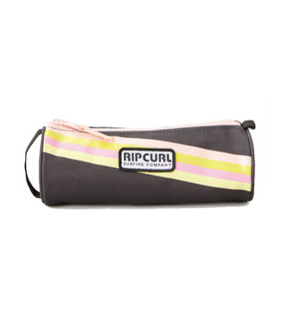 Ripcurl Pencil Case Stripe Washed Black