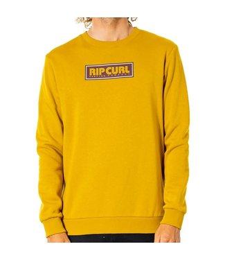 Ripcurl Surf Revival Box Crew Jumper Mustard