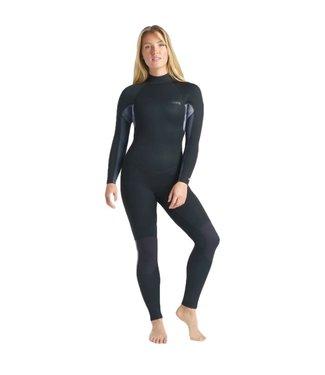 C-Skins Womens Surflite 5/4/3mm GBS Wetsuit Raven