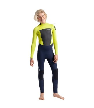 C-Skins Youth Legend 5/4/3mm Full Wetsuit Flash Green