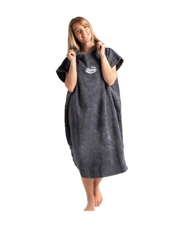 Robie Robes Robie Robe Changing Hooded Towel Steel Grey