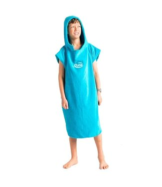 Robie Robes Robie Robe Changing Hooded Towel Youth Blue Atoll
