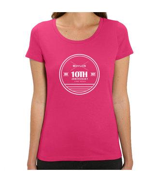 Boylo's Boylo's 10 Year Anniversary T-Shirt Raspberry