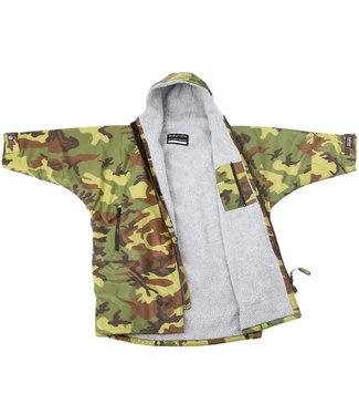 Dryrobe Dryrobe Advance Long Sleeve Youth Camo/Grey