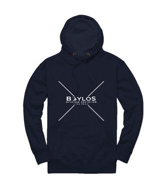 Boylo's Boylo's Premium Organic X Co-ord Hoody Navy