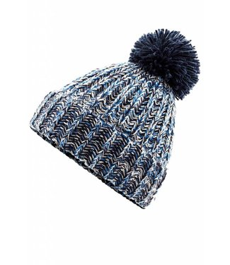 Beechfield Twist Knit Beanie Hat Navy