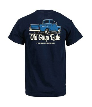 Old Guys Rule It Took Decades T-Shirt DS