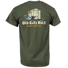 Old Guys Rule Shed Happens II - T-Shirt