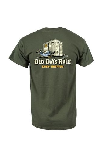 Old Guys Rule Shed Happens 2 T-Shirt